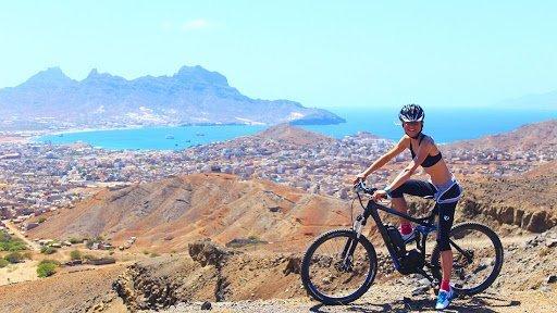 Ciclismo de montaña en cabo verde