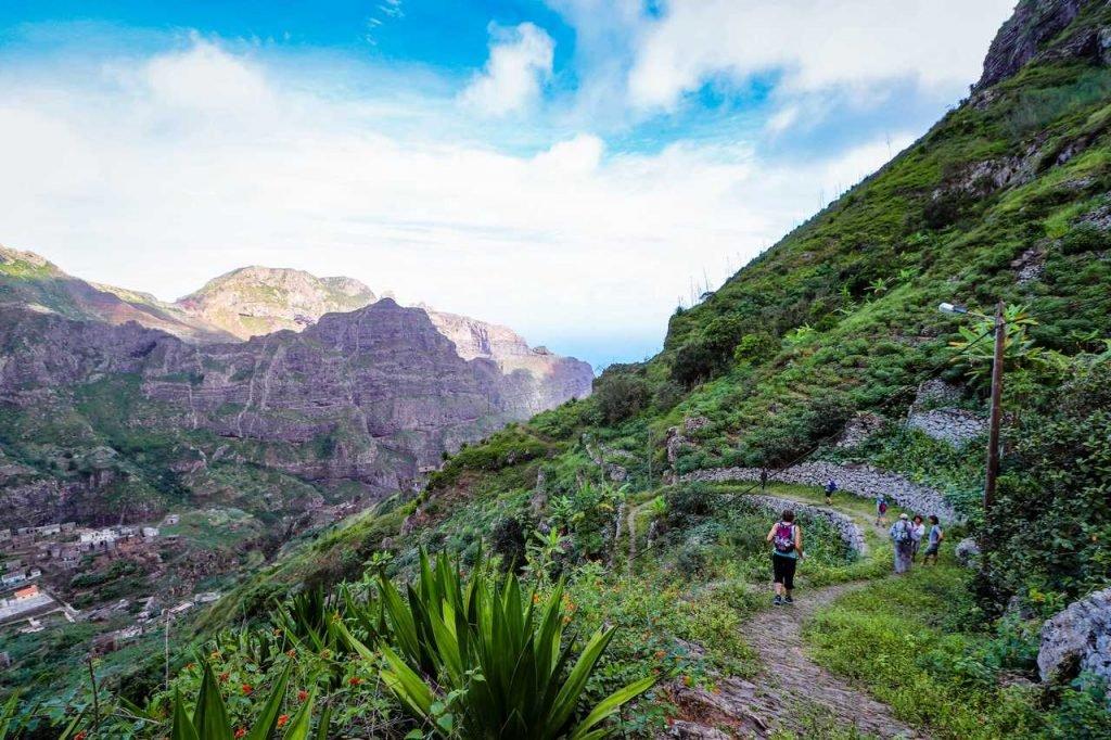 Senderismo en Cabo Verde